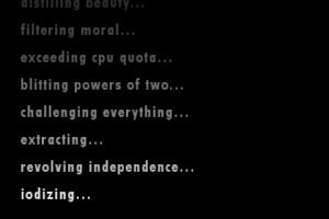 World of Goo opening text